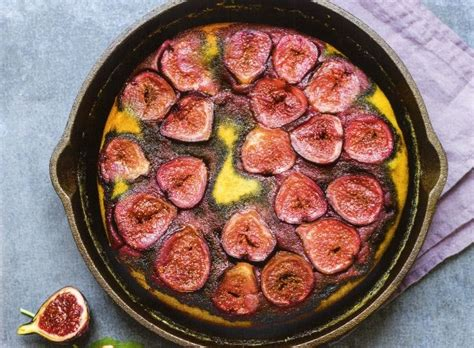 cocinar con higos receta de pastel de higos con vainilla recetas cocina