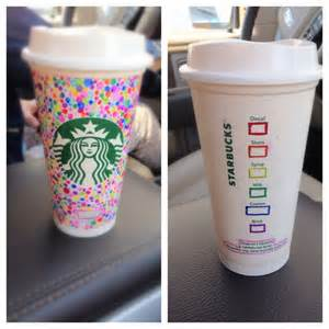 Decorating Glass With Sharpies Decorate A Reusable Starbucks Cup With Sharpies
