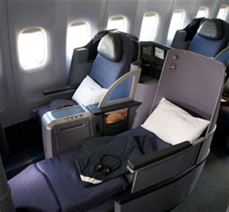 united airlines comfort class first reconfigured united airlines premium service 757
