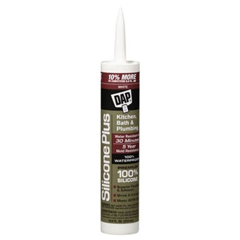 silicone bathroom caulk awardpedia dap 08640 bathroom silicone rubber caulk 9 8 ounce white