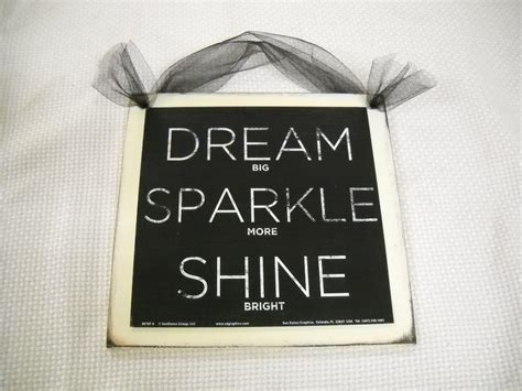 teen girl bedroom wall decor dream sparkle shine wooden wall art sign teen girls bedroom decor 7 99 via etsy