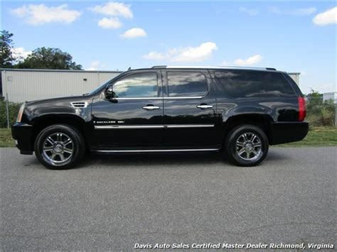 cadillac escalade length 2007 cadillac escalade esv awd extended length fully
