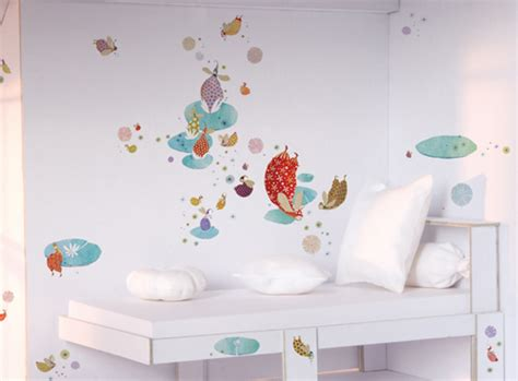 djeco wall stickers elves djeco big wall stickers wall decal mural
