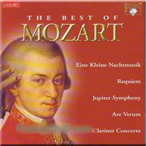 the best mozart the best of mozart 2 cd set by wolfgang amadeus mozart