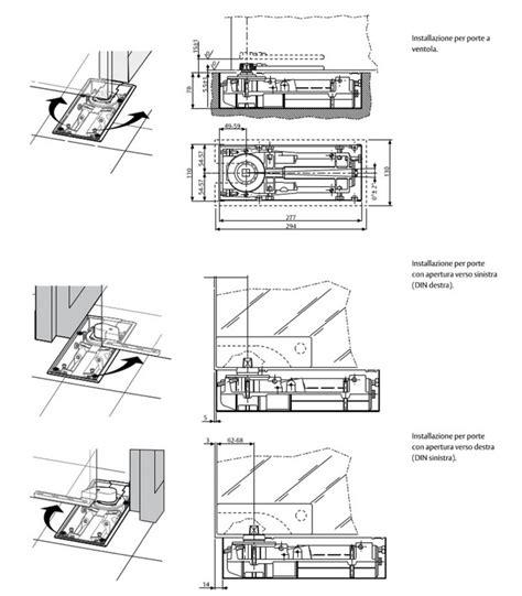 mab porte chiudiporta a pavimento con forza regolabile per porte