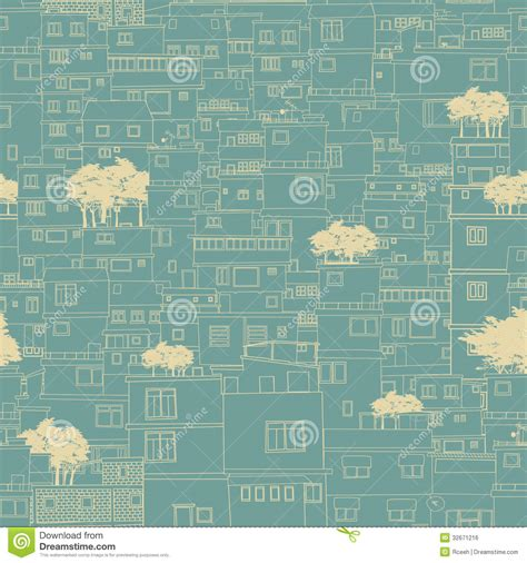 blueprint pattern seamless city pattern sketch stock vector image 32671216