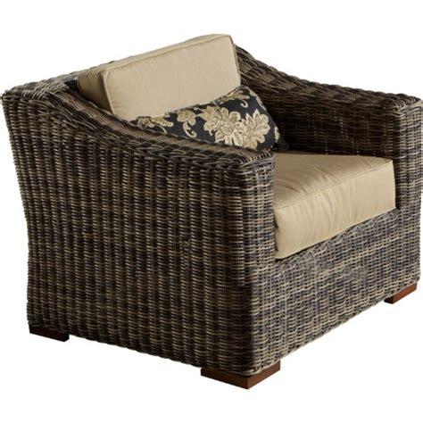 grey rattan club chair rst brands op peclb lnk wg resort collection club chair