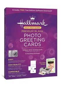 hallmark half fold glossy premium photo greeting cards 15 count granexdabno