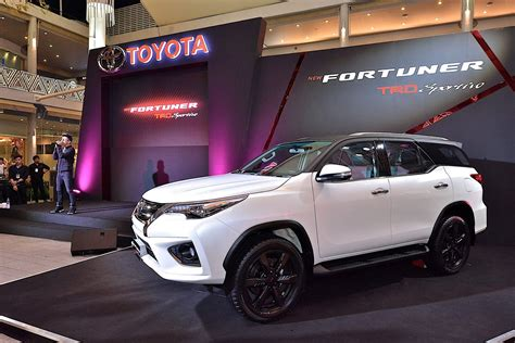 toyota co toyota fortuner gets trd treatment cars co za