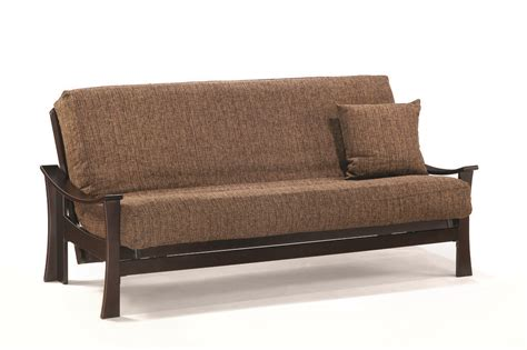 futon twin deco twin lounger size java futon set by j m furniture