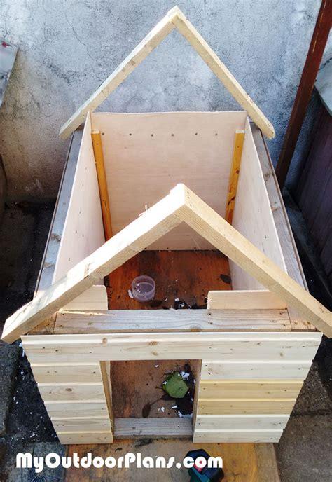 diy insulated dog house myoutdoorplans