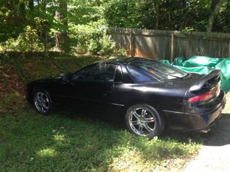 93 mitsubishi 3000gt buy used 93 mitsubishi 3000gt vr4 black manual fair