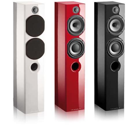 color speakers altavoces de suelo triangle serie color