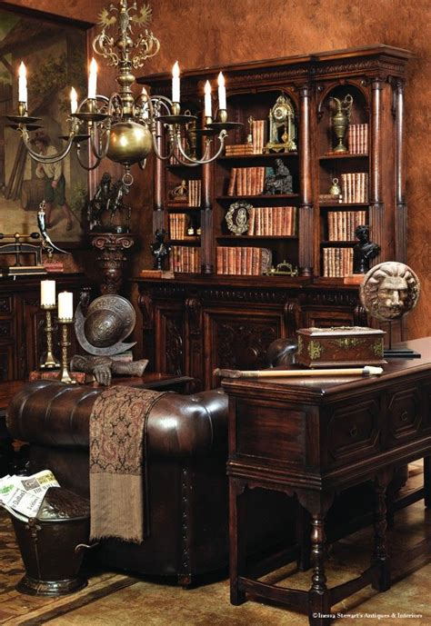 203 best antique home office furniture library images on