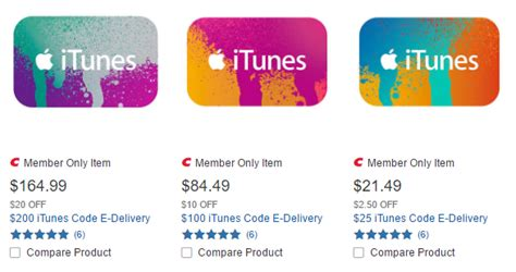 Discounted Itunes Gift Card - discounted itunes gift cards at costco up to 17 5 off miles to memories