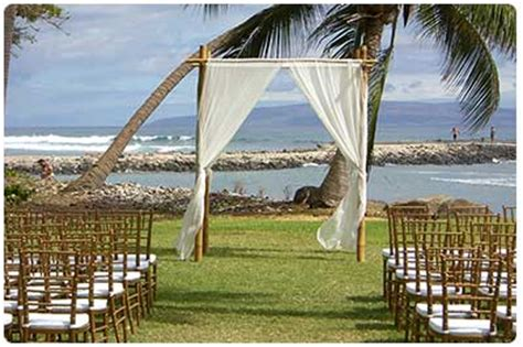 Wedding Arch Tradition by Hawaii Weddings And Tips Stunning Wedding Chuppahs