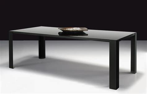 tisch mit schwarzer glasplatte big irony black glass table black glass table top l