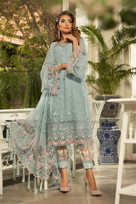 eid women dresses maria  mbroidered eid collection
