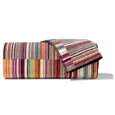 striped bathroom missoni home striped bath towel jazz color and 13 similar items