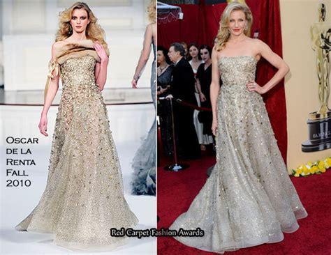 Catwalk To Carpet Cameron Diaz In Gucci by Runway To 2010 Oscars Cameron Diaz In Oscar De La Renta