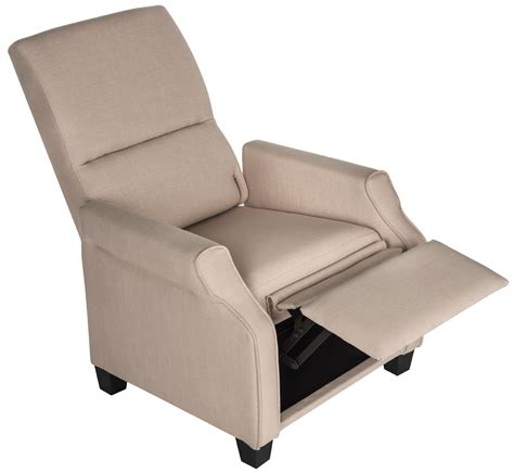 little castle recliners heathgate hide a chaise high leg recliner recliners lane