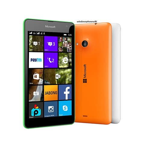 Microsoft Lumia 535 Windows Phone microsoft lumia 535 windows phone wiki