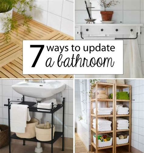 updating a small bathroom on a budget great ideas for the small houses 7 ways to update a