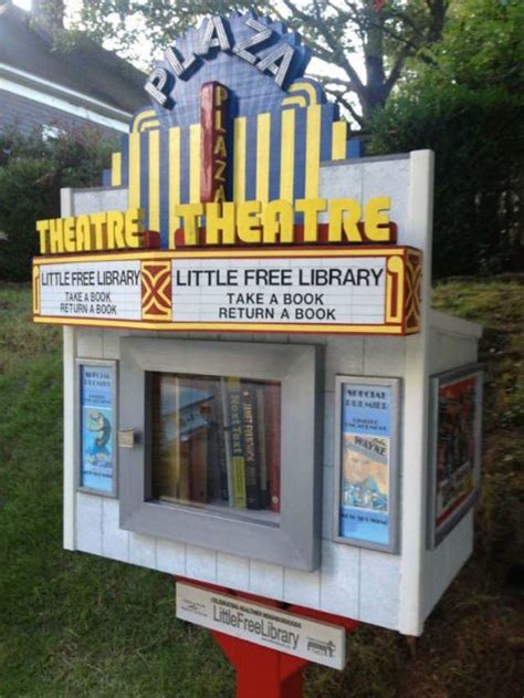 tiny library 21 diy little free library designs
