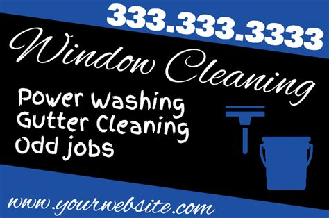 cleaning service yard sign car wash lawn signs house