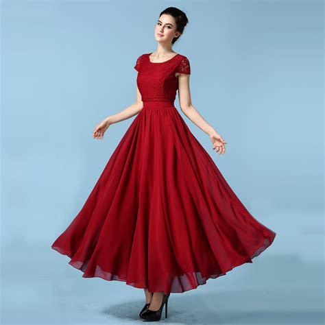 New Style Slim Dress aliexpress buy 2016 new style chiffon dress sleeve slim big swing