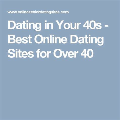 10 For Dating In Your Forties by 10 Things To Before You Date A