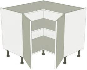 Kitchen Corner Unit Storage - corner kitchen base unit l shape 2 separate doors