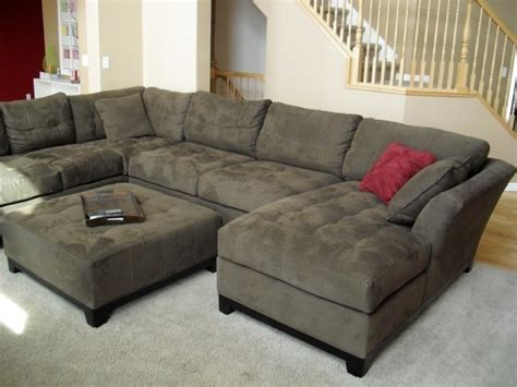 deep sofa with chaise design for deep sofa with chaise ideas and ottoman image