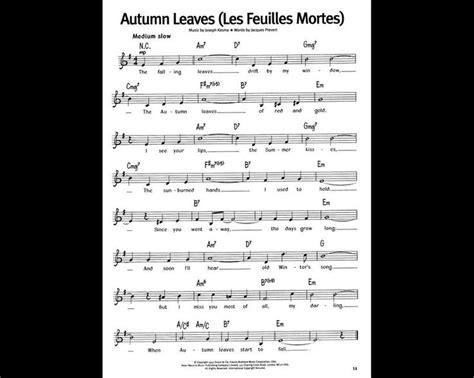 autumn leaves testo les 25 meilleures id 233 es de la cat 233 gorie les feuilles