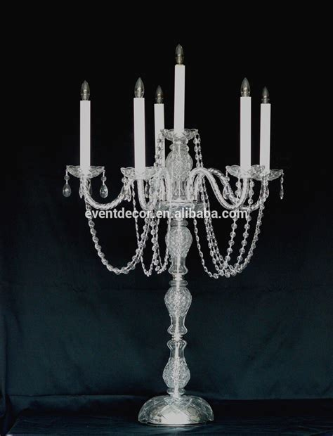 new product 5 arm wedding candelabra for home