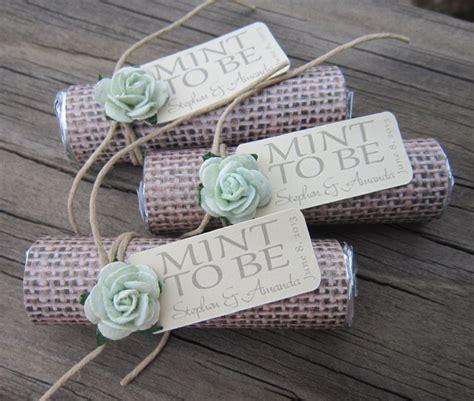 unique wedding favor ideas etsy mint wedding favors set of 24 mint rolls mint to