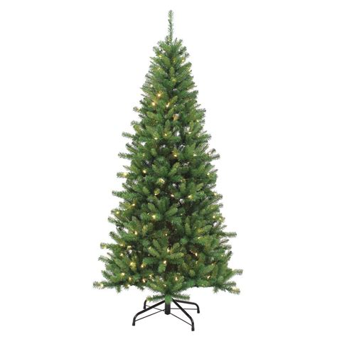 7 5 ft pre lit led kingston pine artificial christmas