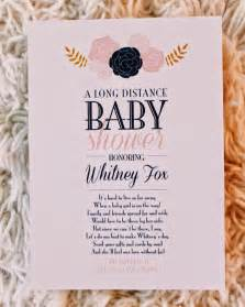 as a fox distance baby shower