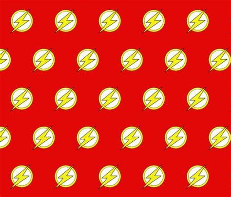 dc comic  flash logo fabric  nannerlee