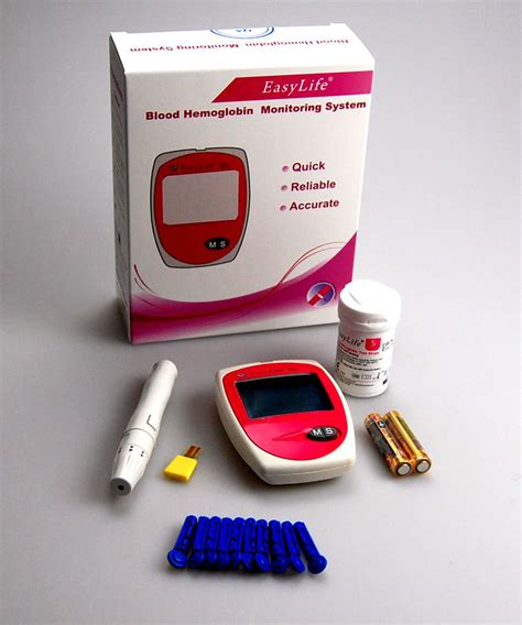 hemoglobin test meter easy anaemia anemia iron