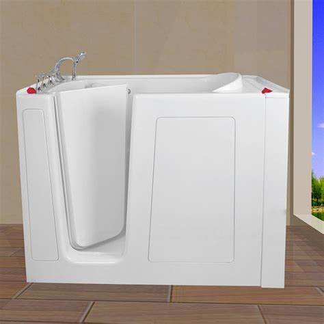 safe step bathtubs safe step bathtub 30 wx52 lx40 h cwb3052 0 00
