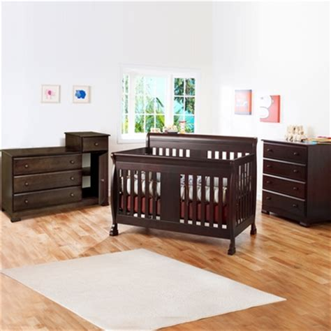 Crib Combo Set by Davinci 3 Nursery Set Porter Convertible Crib