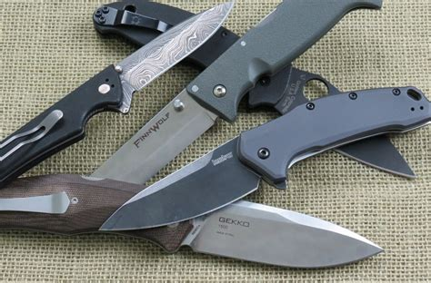 Choosing Kitchen Knives best folding knife of 2017 buying guide top picks