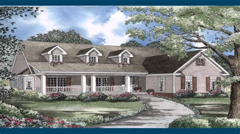ranch style house plans with front porch luxamcc
