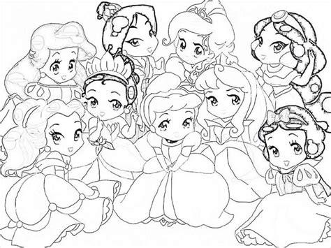 doodle god nieve princesas para colorear pintar e imprimir