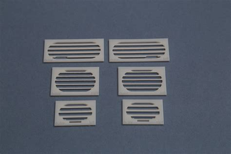 2 X 3 Set Of 1 5 Ec 135 Side Gril Set Pack Of 6 2 X 3 Parts Available