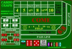 the of craps casino special eventcasino special event