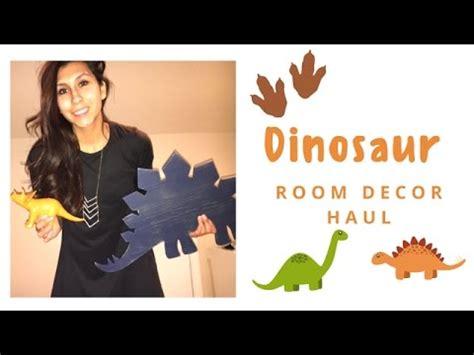 copper room decor haul lifewithchloe youtube updated dinosaur room decor haul big boy room youtube