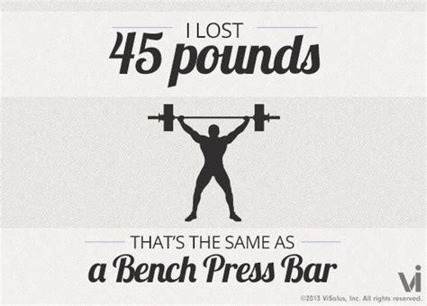 45 pound bench bar pin by laura davis on slimming world pinterest