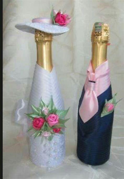 botellas de sidra decoradas para el novio imagenes con diamantina botellas decoradas para brindis de boda botellas decoradas